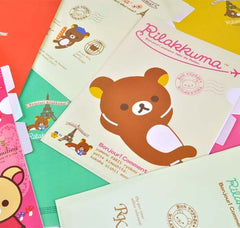 Rilakkuma Travels 3-Subject Slim Organizer