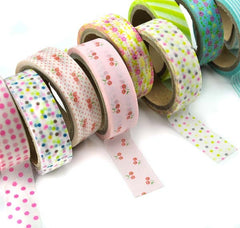Festive Pattern 2-Pack Washi Tape Set
