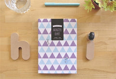 Hardcover Monster Planner and Diary