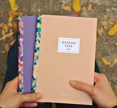 Washi Tape Collection Notebook
