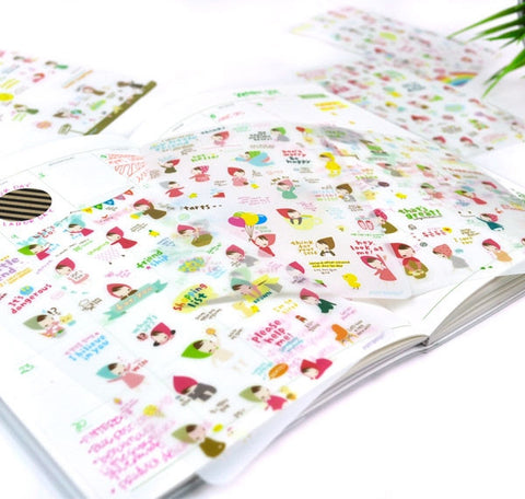 My Little friend Planner Stickers