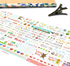 Sketchbook Stationery Stickers