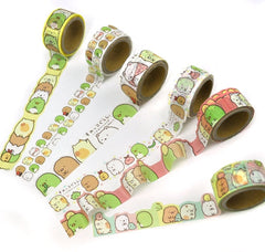 Sumikko Gurashi Scalloped Washi Tape Collection