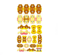 Rilakkuma Double Sided Planner Sticker Set