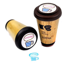 Java Coffee Cup Stamp Collection