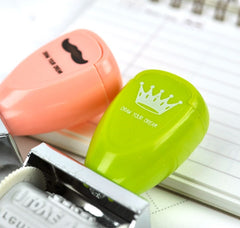 Deluxe Stationery Push Stamp