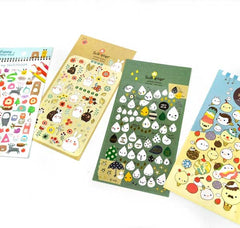 Cute Character Sketchbook Stickers