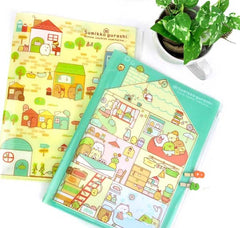 Sumikko Gurashi Fun House Multi Pocket Folder
