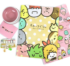 Playful Sumikko Gurashi Multi Pocket Folder
