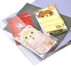 Rilakkuma Kitty Costume Sticky Notepad