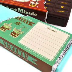 Disney Character Chocolate Bar Pencil Box