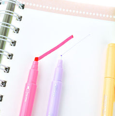 Double Ended Pastel Highlighter Set
