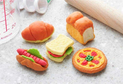 Lunch Collection Erasers