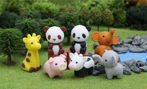 Animal Eraser Collection
