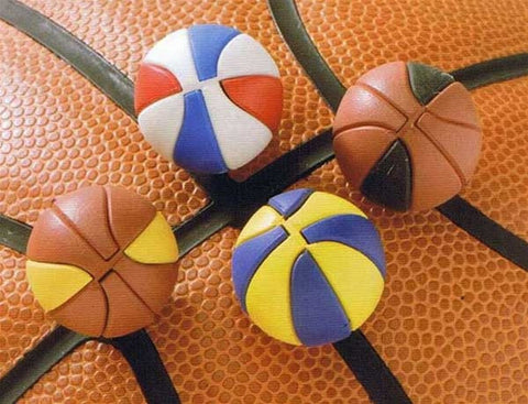 Basketball Eraser Collection