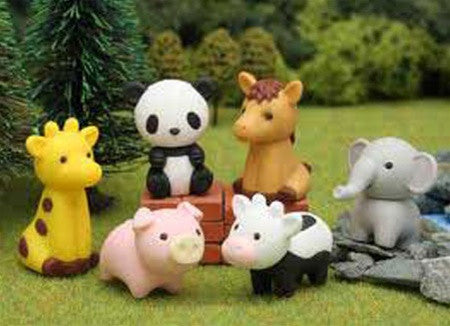Animal Friends Eraser Set