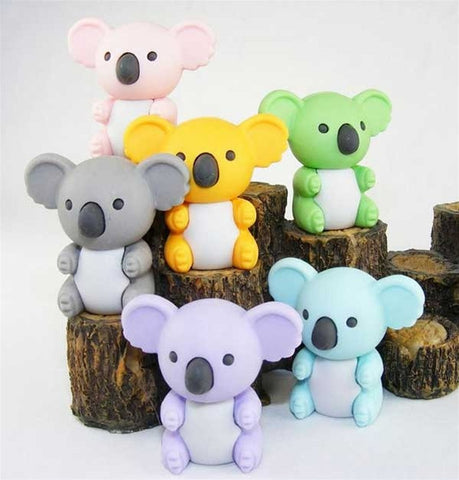 Koala Eraser Collection