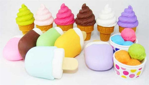 Ice Cream Eraser Collection