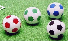 Soccer Ball Eraser Collection