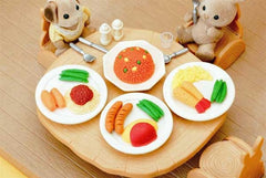 Lunchtime Eraser Collection