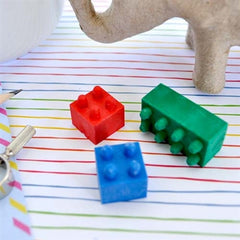 Building Block Eraser Set
