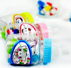 Baby Bottle Vitamin Eraser Set