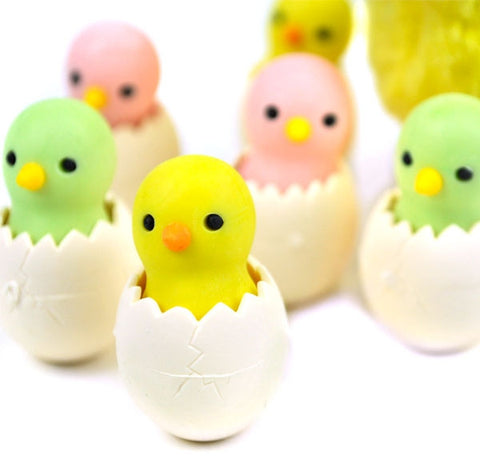 Chicklet Erasers