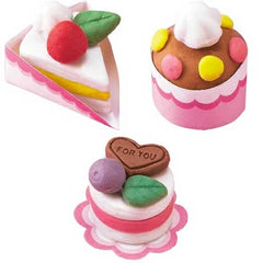 Do-It-Yourself Scented Clay Eraser Cake Set