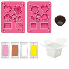 Do-It-Yourself Scented Clay Eraser Chocolates Set