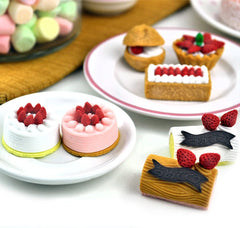 Sweet Pastry Eraser Collection