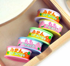 Fresh Canned Fruit Erasers