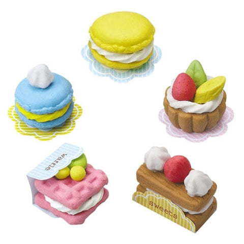 Do-It-Yourself Scented Clay Eraser French Pastry Set