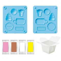 Do-It-Yourself Scented Clay Eraser Ice Cream Set