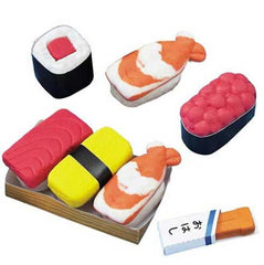 Do-It-Yourself Scented Clay Eraser Sushi Set