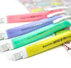 Jewel Tone Retractable Eraser Stick