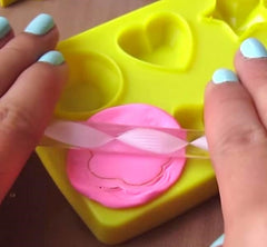 Do-It-Yourself Clay Eraser Gem Ring Set