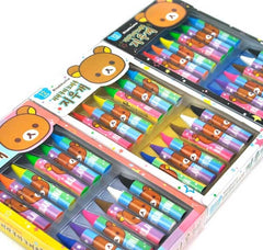 Rilakkuma Crayon Look-Alike Eraser Set