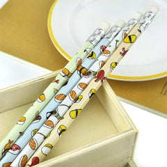 Egg and Sushi Mechanical Pencils