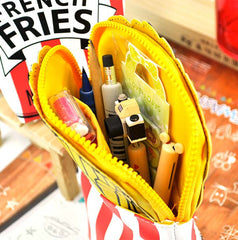 French Fry Pencil Pouch