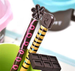 Chocolate Swirl Cookie and Chocolate Bar Mini Stationery Set