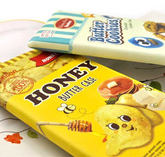 Honey and Butter Pencil Pouch Close Up