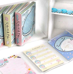 Jinbei-San Deluxe Notepad Set with Mini Erasers