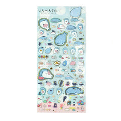 Jinbei-San Stickers-Relax Time Light Blue