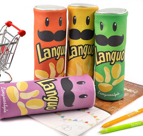 Languo's Potato Chip Pencil Pouch