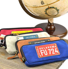 License Plate Pencil Case