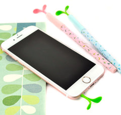 Little Sprouts Gel Pen with Cell Phone Charm