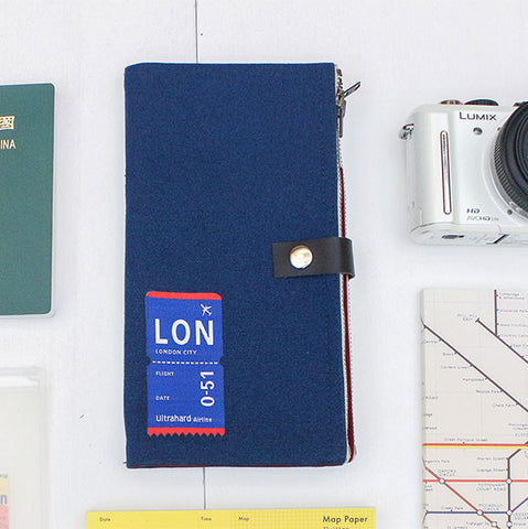 London Traveler Pencil Pouch