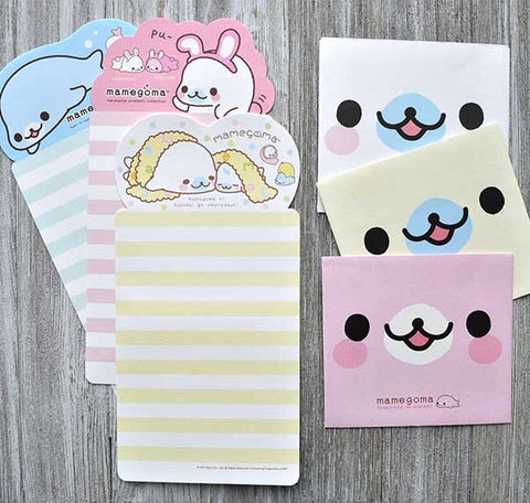 Mamegoma Mini Letter Set