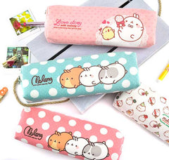 Molang Polka Dot and Treats Pencil Pouch