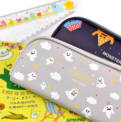 Monster and Ghost Pencil Case